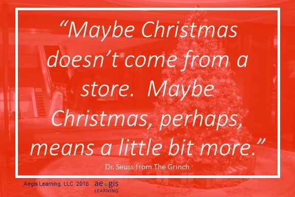 The Grinch knew  #leadership #christmas | Aegis Learning