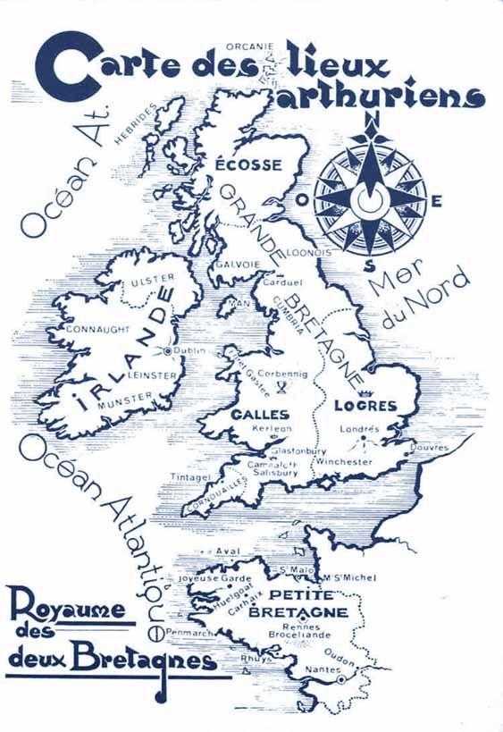 Les Deux Bretagnes Aux Temps Du Grand Roi Arthur Bretagne Grande Bretagne Roi Arthur