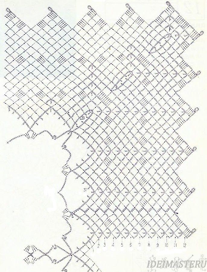 Ананас вязание крючком описание
