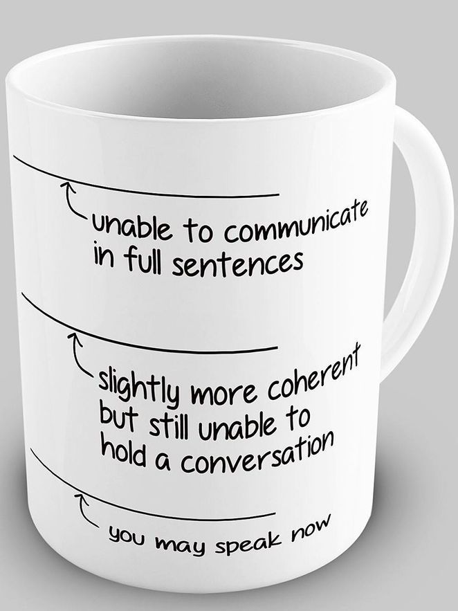 This is so me first thing lol: 'You May Speak Now' Mug