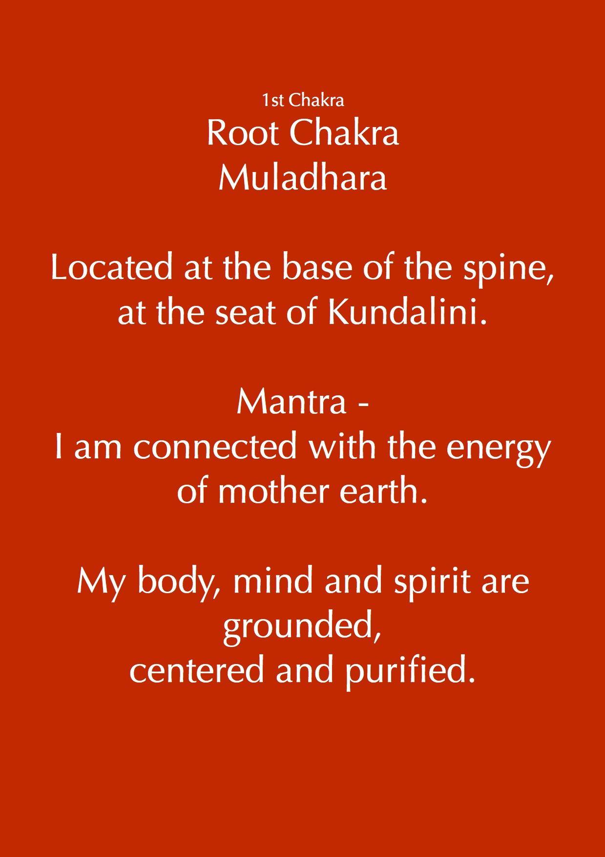 Muladhara  Mantra - Lam | 1st Root Chakra | Chakra