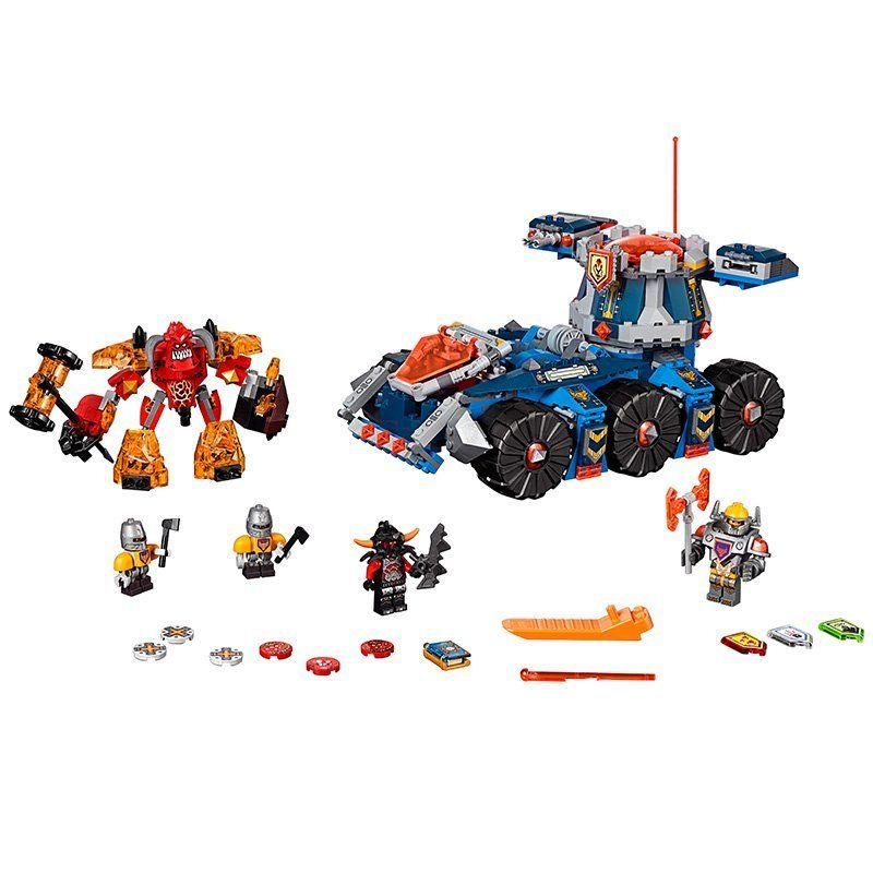 Axl's Tower Carrier Building Set (704 Pieces): Price: $44.99 & FREE ...