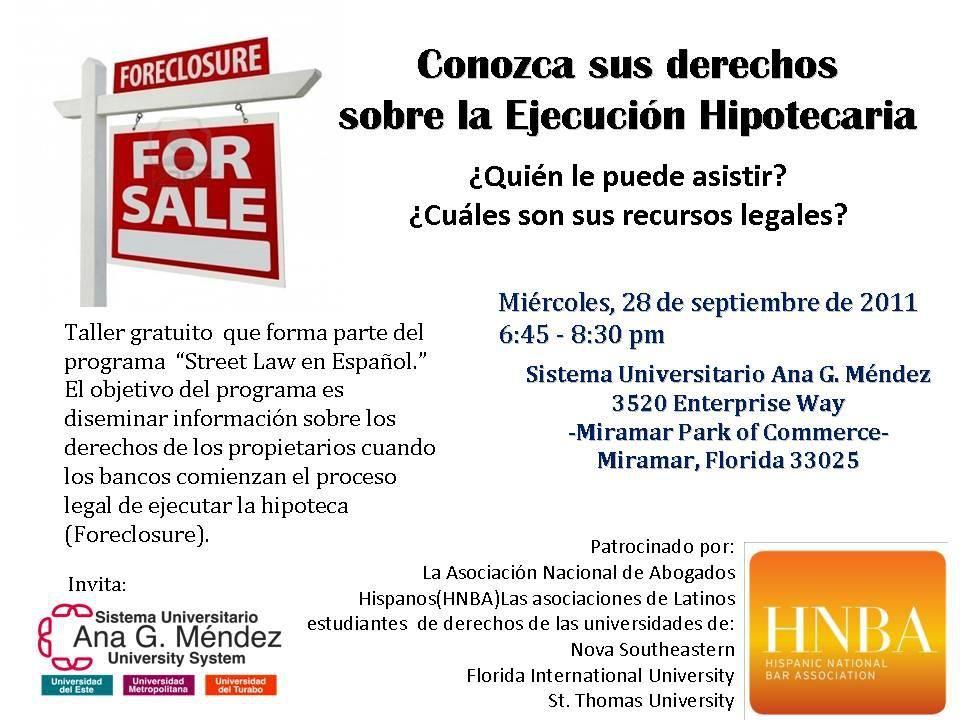 Part of the HNBA Street Law En Espanol program.