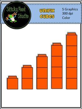 unifix cubes clip art for maththis set of unifix cubes clip art rh pinterest com Connecting Cubes Clip Art Ten Unifix Cubes Clip Art