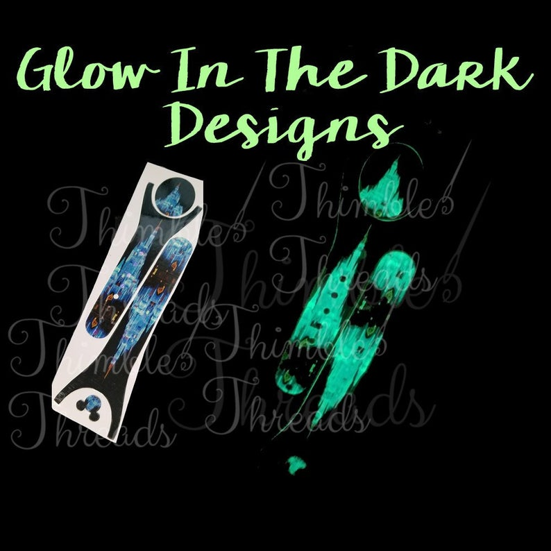 Frozen Ice Castle Christmas Glow In The Dark Magic Band 2