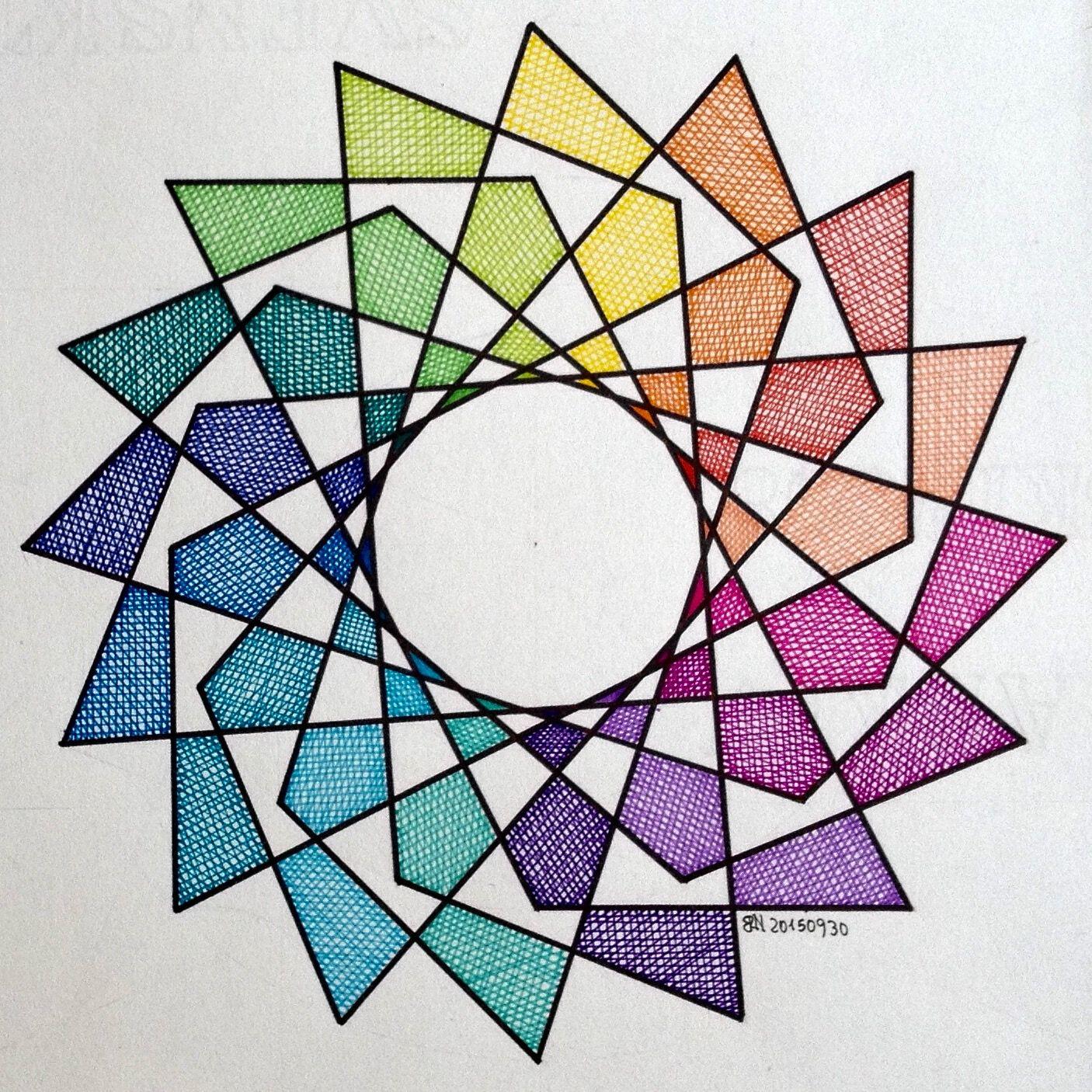 Pin by Sweet Freedom Designs on Geometry   Geometry art ...
