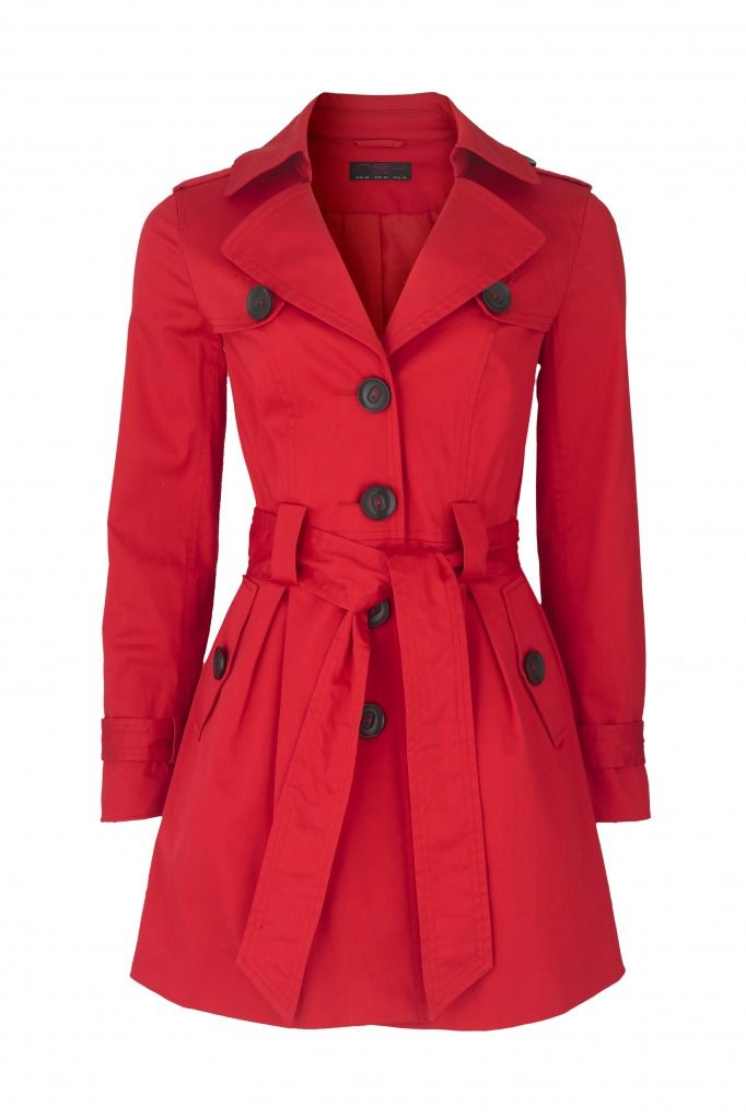 Coatpreferably This Is Dark RedBut I All Trench Red Can CxoBdre