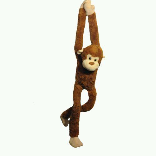 "Plush animal's Kid's toy's 42"" long x 9"" wide Monkey NWT"