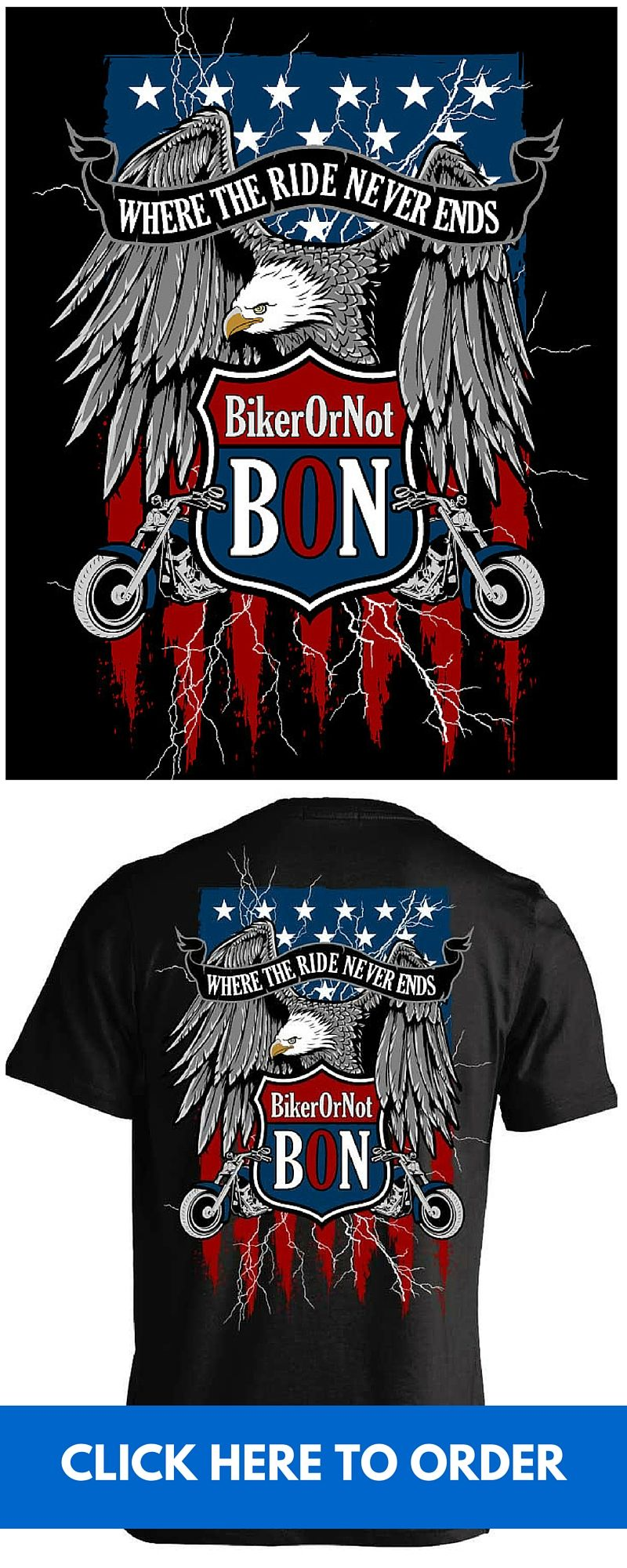 9d96481985e0 BikerOrNot T-shirts - The best way to find other BON members at motorcycle  events