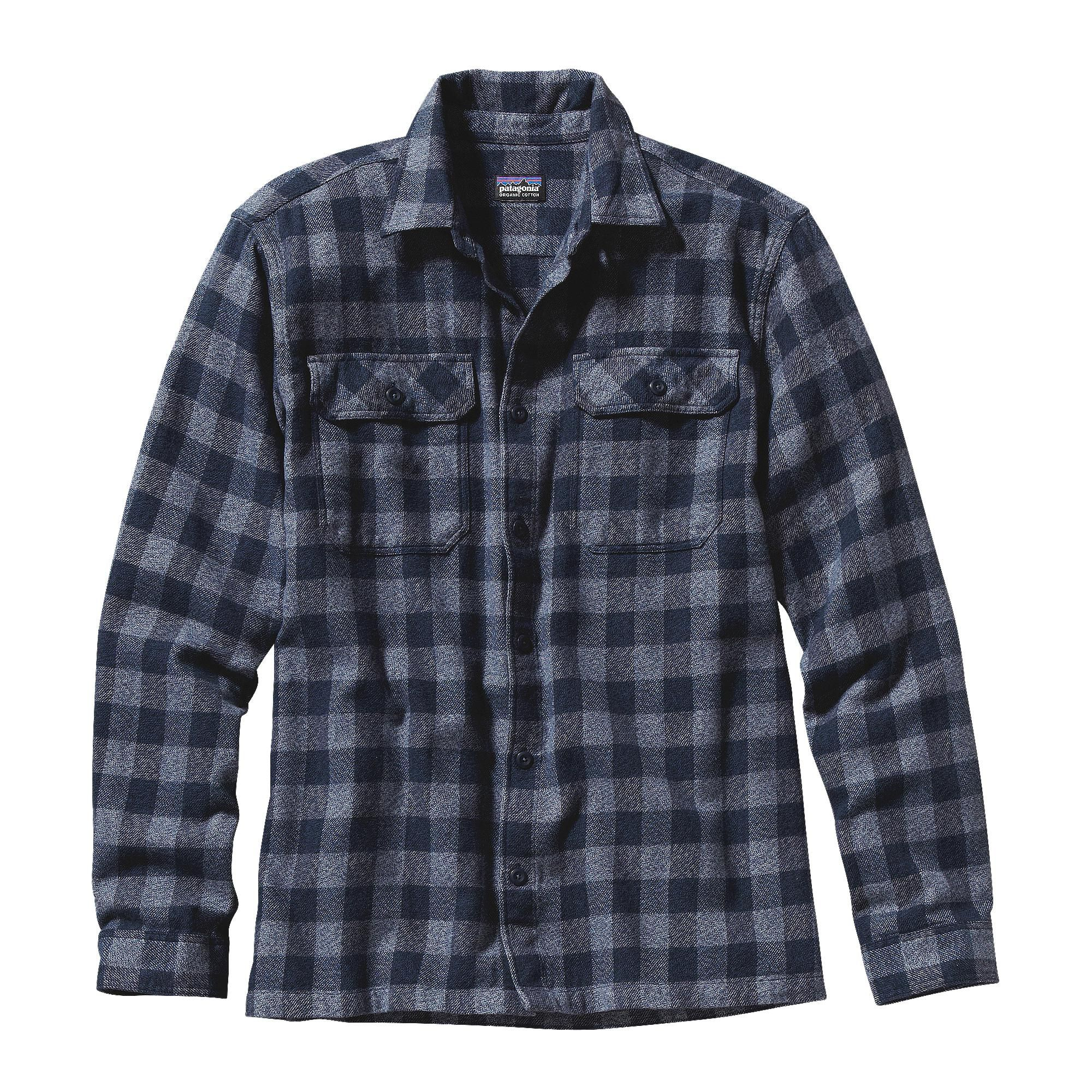 Purple flannel men  Menus LongSleeved Fjord Flannel Shirt  Flannel shirts Flannels