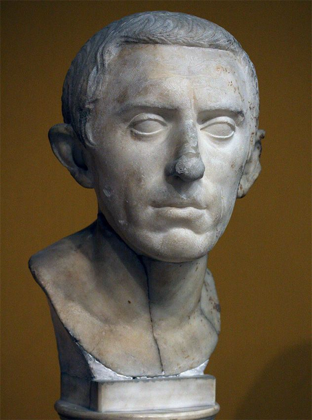 Male portrait. Marble. Ca. 27 BCE — 14 CE. Inv. No. 96.699. Boston, Museum of Fine Arts
