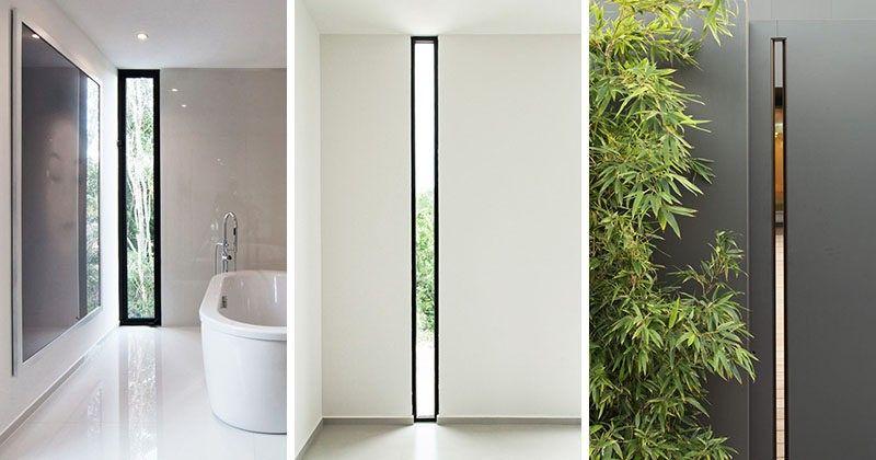 Fenster-Stil Ideen schmalen vertikalen Fenstern | House | Pinterest ...