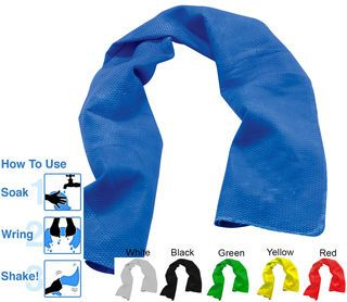 Shake Cooling Towel Cooling Towels Absorbent Towel Blue Towels