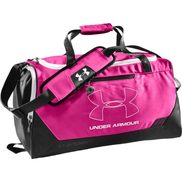 c3c67b7a7e70 Under Armour 1241751 Hustle Small Duffle. Also available in Black and Midnight  Navy