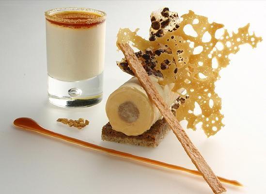 Montaje gourmet caramelo creatividad maravillosa for Cocina molecular postres