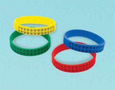 #LegoDuploParty  Amazon.com: LEGO City Rubber Bracelets Party Accessory: Clothing