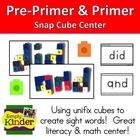 $ Use these cards to have your students count out blocks to create the letters and form the pre-primer sight words!  Primer  Pre-Primer List I...