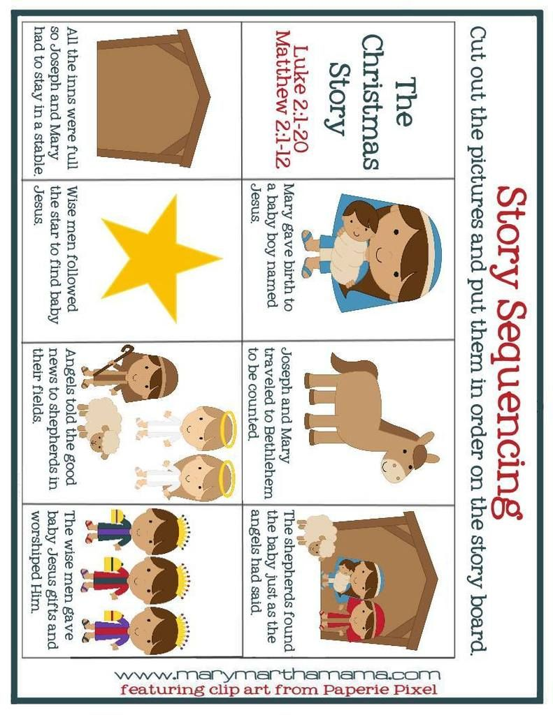 worksheet Put The Story In Order Worksheet november 2015 mary martha mama pinterest mama