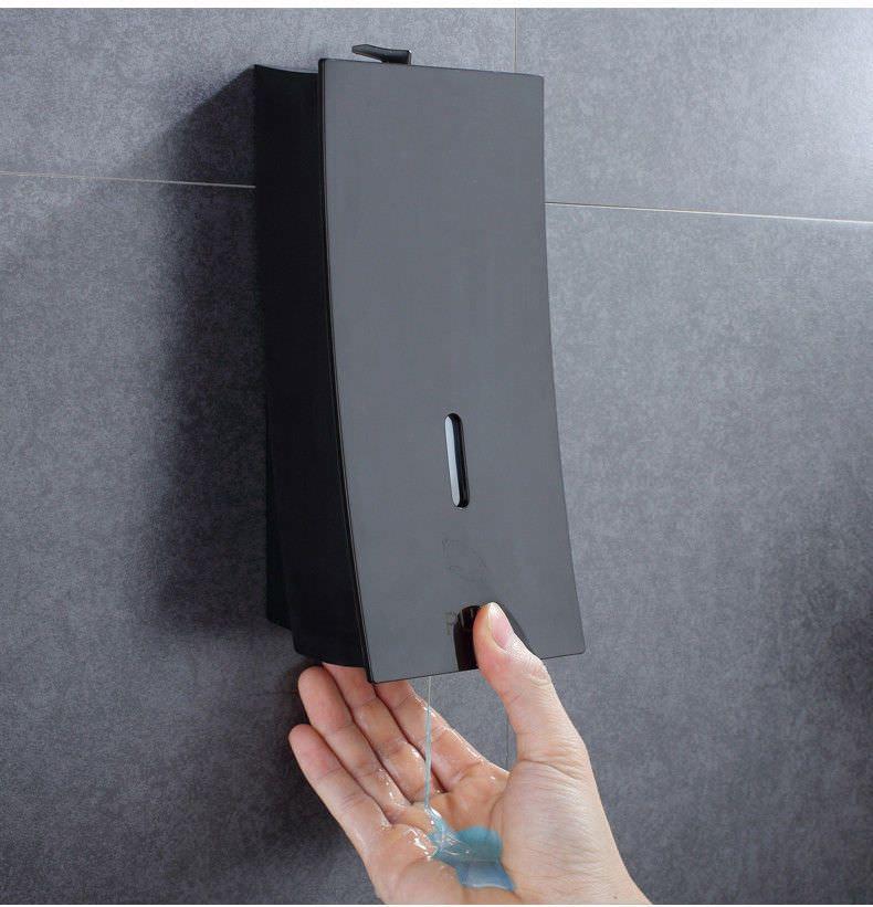 Wall Mounted Bathroom Shower Soap Dispenser Liquid Bottle Holder Hand Push 450ml Ebay Soap Dispenser Wall Shower Soap Dispenser Soap Dispenser