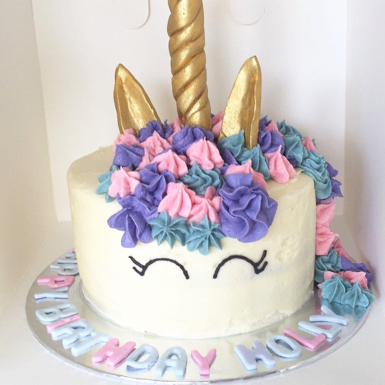 Happy Birthday Holly I Hope Your Unicorn Cake Brought You