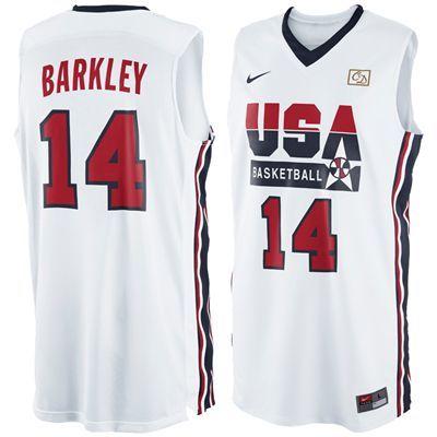 brand new e3d63 fff82 Charles Barkley 1992 Olympics