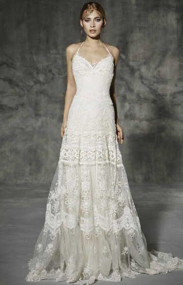 Vestido noiva de Yolancris  82b0a7c6001