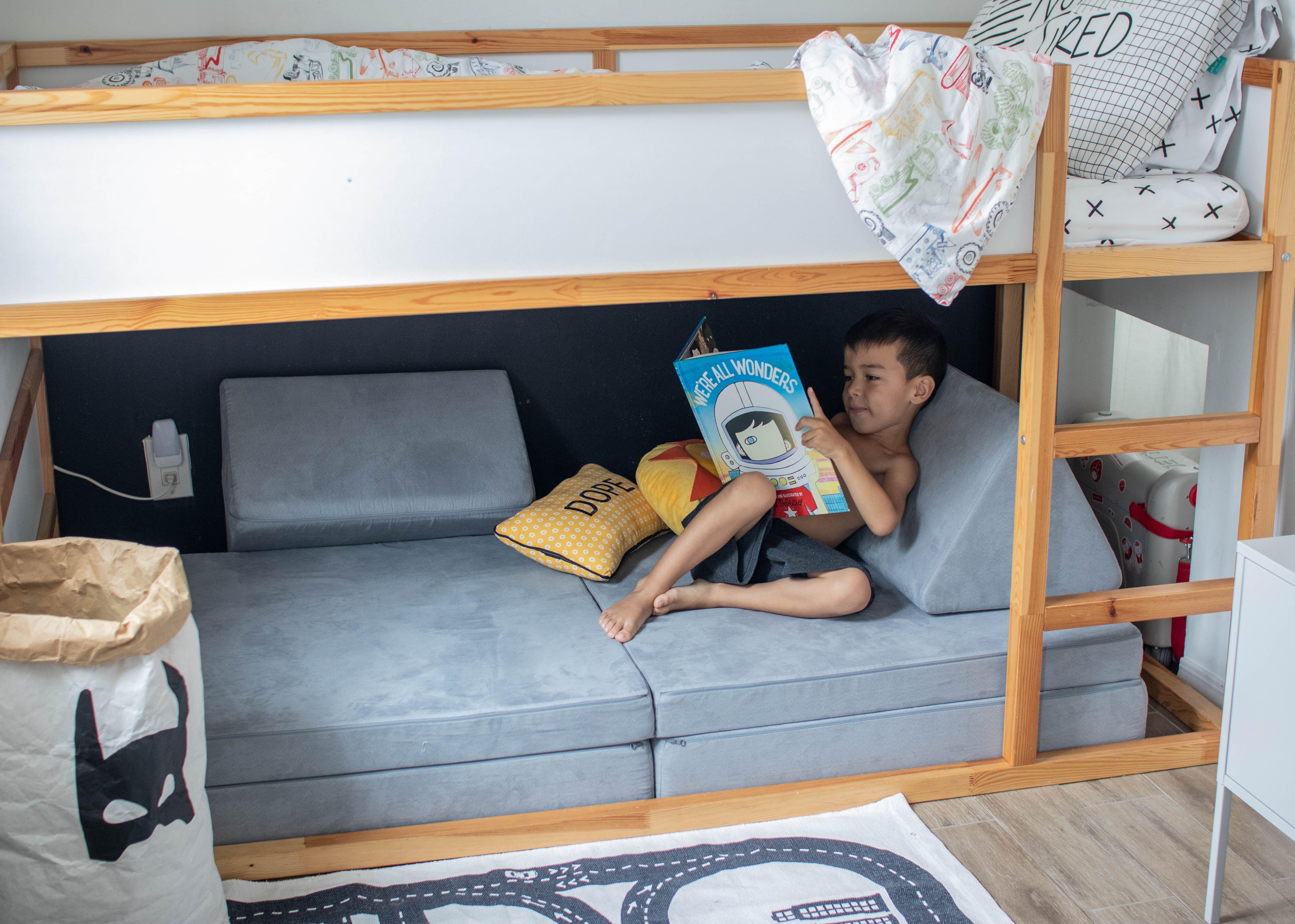 Nugget Comfort fits under the #IkeaKura KURA bunk bed ...
