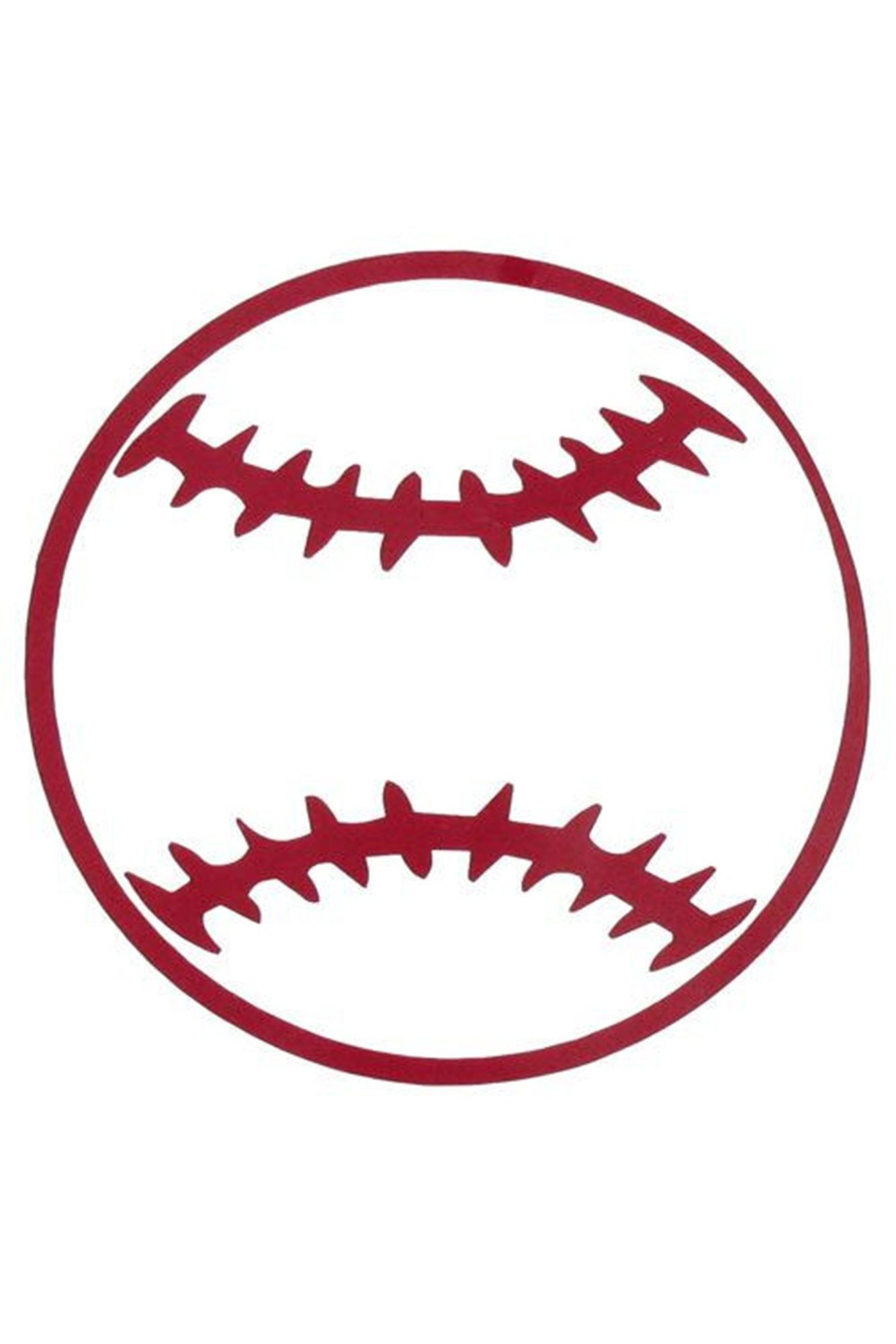 Baseball Vinyl Decoration Sy 54 Choose Your Color Products Baseball Softball Color