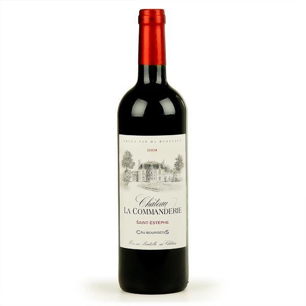 Rượu Vang Château La Commanderie Cru Bourgeois 13,5% - Chai 750ml