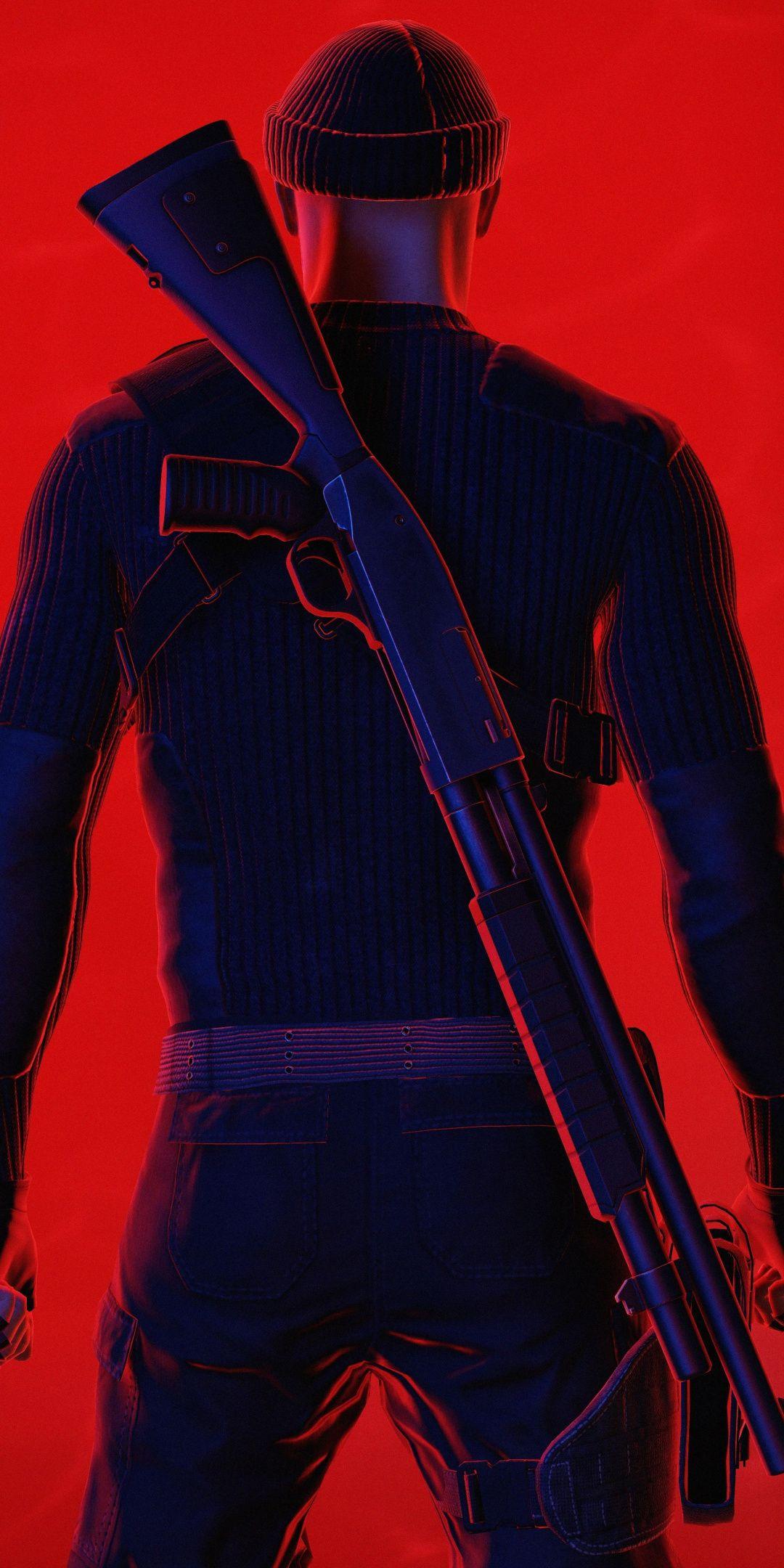 Red Assassin Hitman 2 2018 1080x2160 Wallpaper Hitman