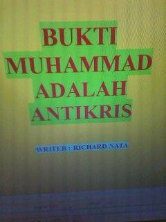 allah swt adalah iblis: buku bukti muhammad adalah antikris