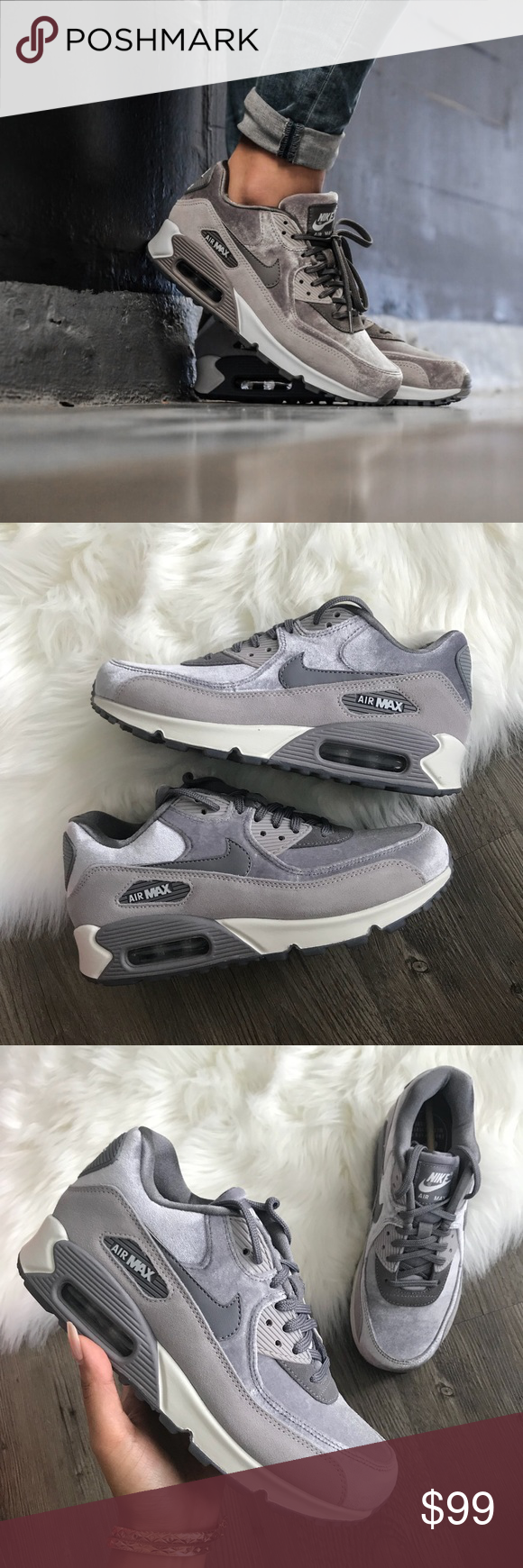 Women's Nike Air Max 90 LX size 6.5 Particle Rose