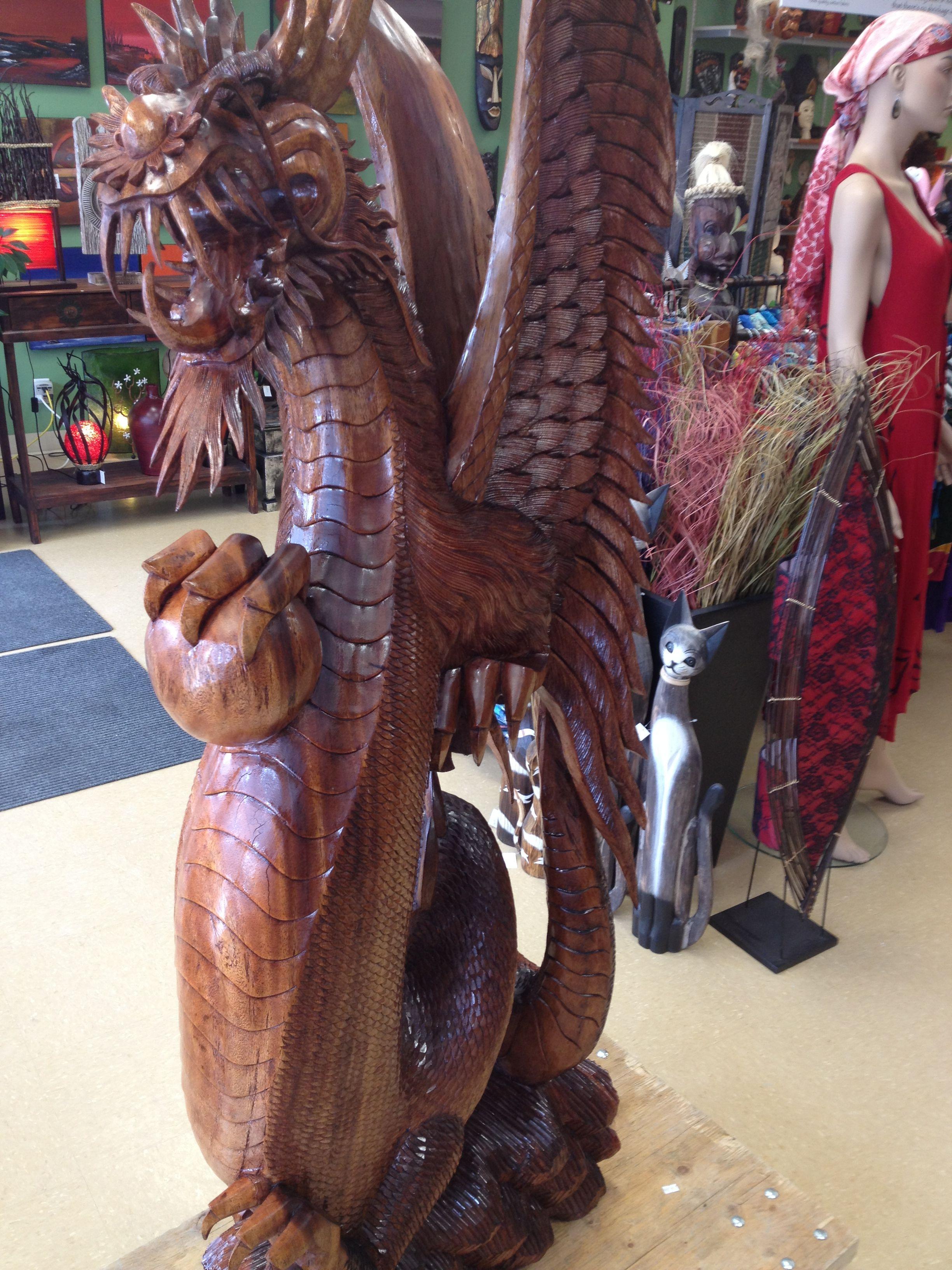 Handcarved Dragon
