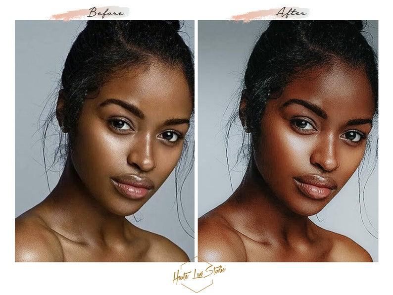 8 Melanin Beauty Presets Black Girl Magic Presets Chocolate Etsy Melanin Beauty Fair Skin Tone Brown Skin Tone