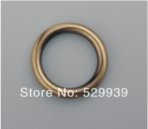 5.0mm line 3/4 inch 60pcs/lot O Rings die casting brushed bronze ...