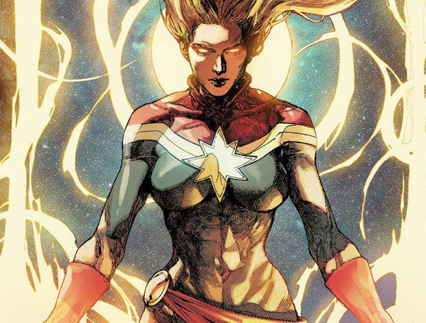 captain marvel a girl