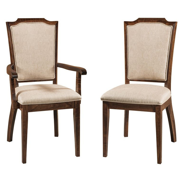Delightful Amish Parma Dining Chair | Amish Furniture | Shipshewana Furniture Co.