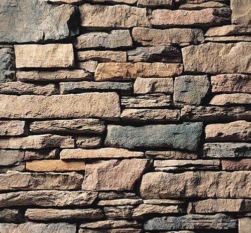 Cultured stone southern ledgestone chardonnay stone veneer for Manufactured veneer stone