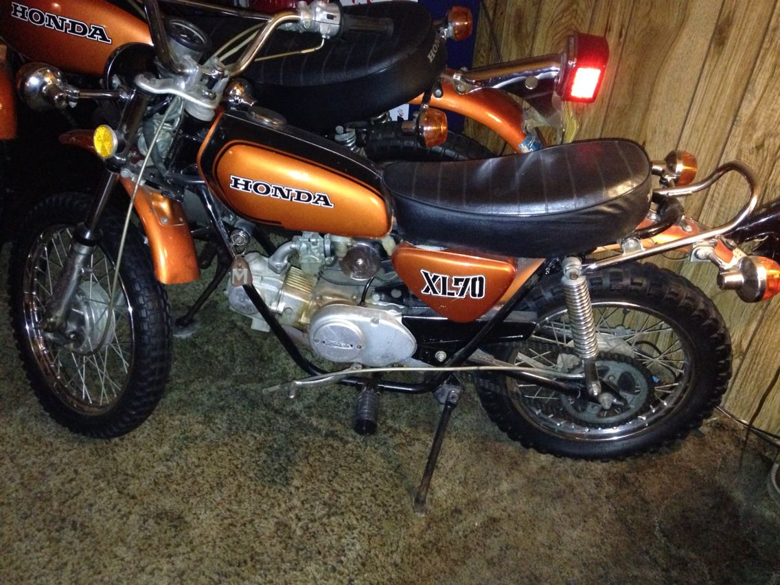 1974 honda xl70 these are both for sale my vintage. Black Bedroom Furniture Sets. Home Design Ideas