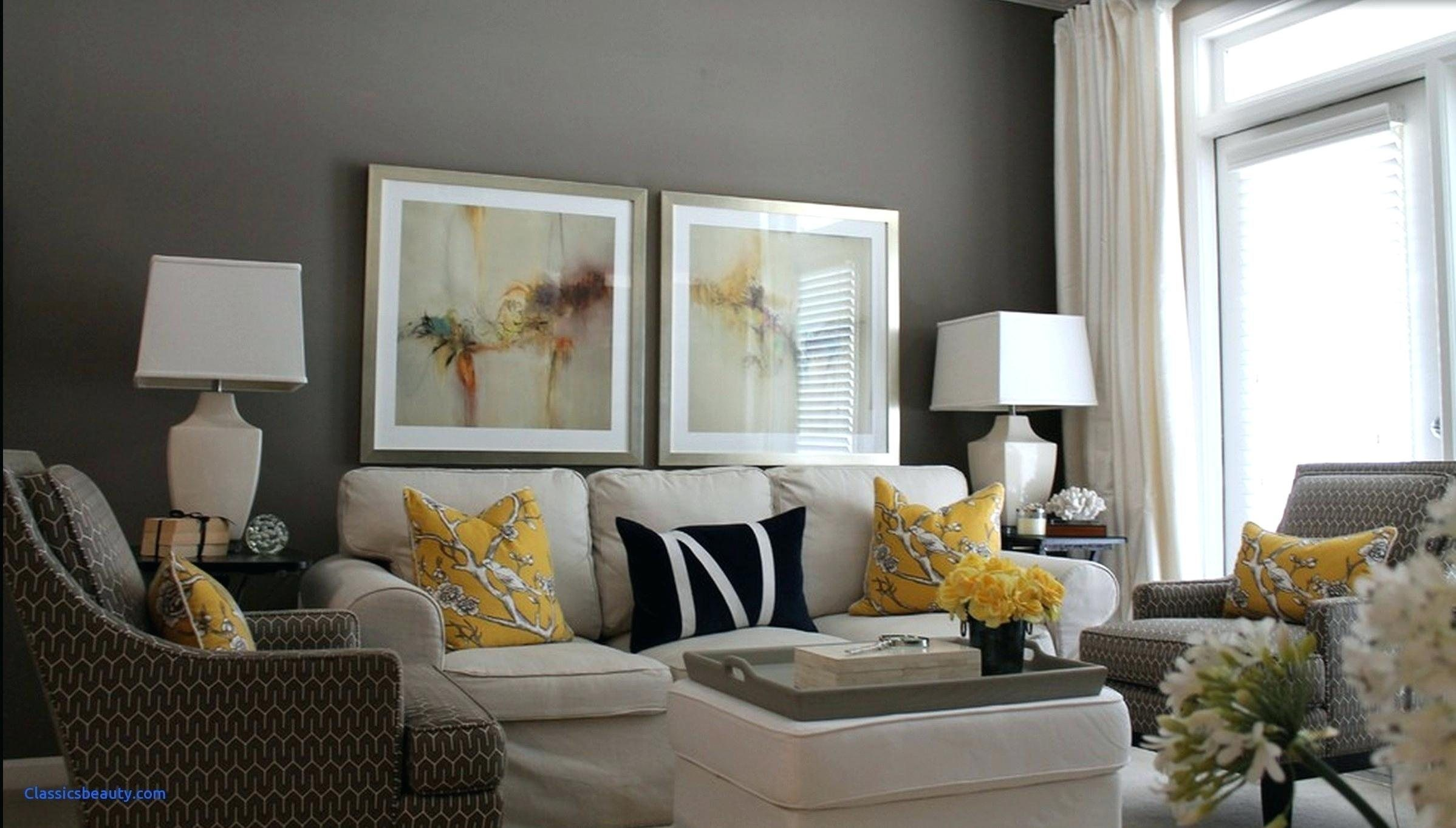 Grey And Yellow Living Room Accessories Awesome Modern Gray White