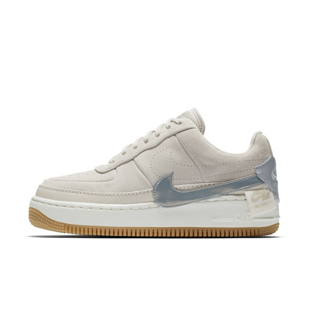 c3dba87fe858 Nike Air Force 1 Jester Suede Metallic Women s Shoe Size 6 (Desert Sand)