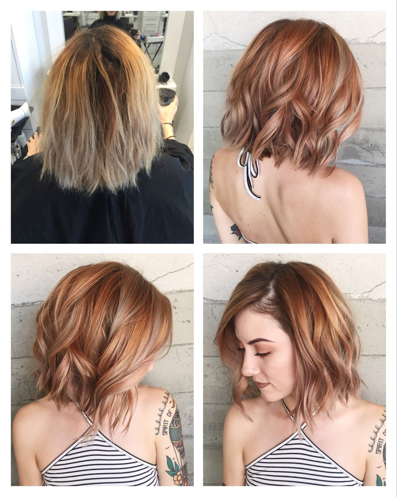Lots of makeovers. Silver, rose gold, pink, balayage, and jewel tones. - Album on Imgur