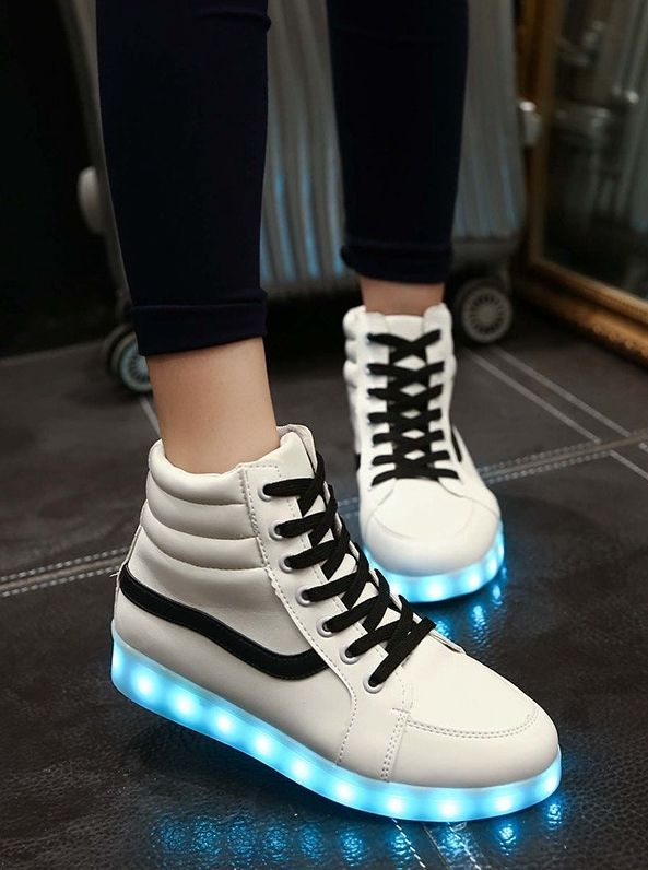 pretty nice 624e9 d0a82 simple style campus shoes with LED light!! Cant wait to buy these shoes!!