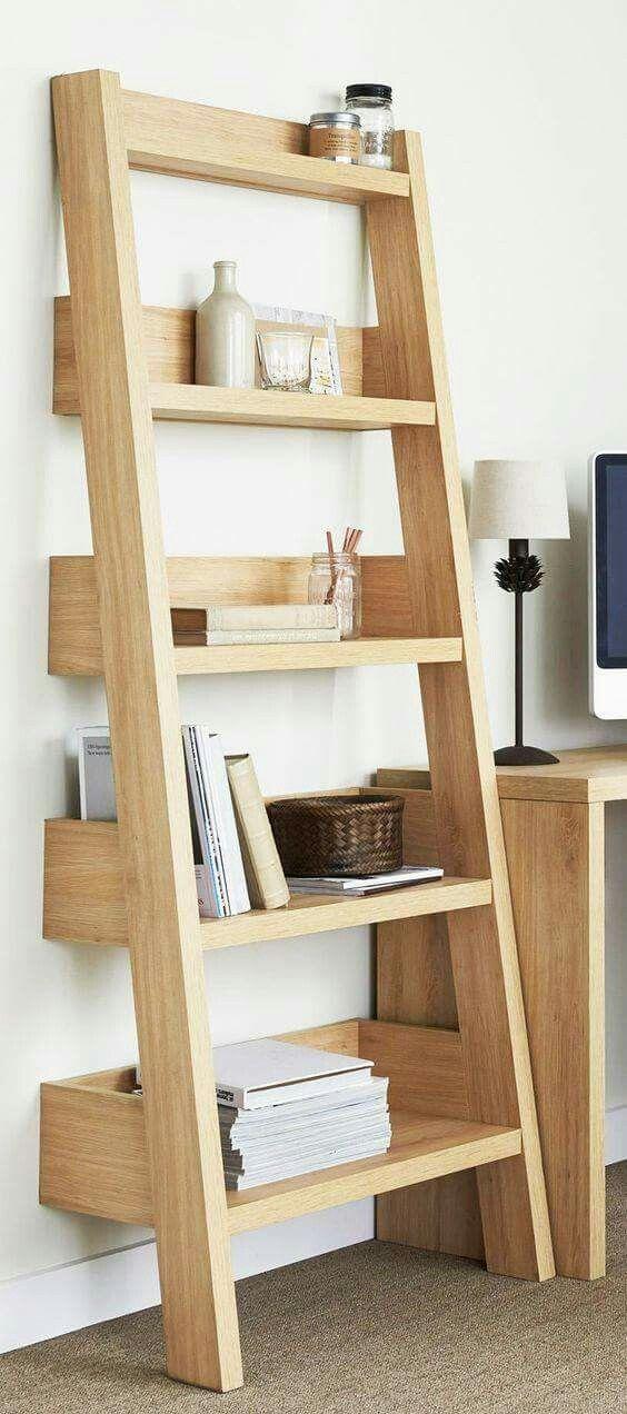 Repisa escalera | cosas de casa | Pinterest | Holzarbeiten ...