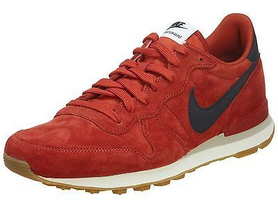 meet 49ecf d1eaf ... Nike Internationalist Leather Mens 631755-604 Cinnabar Running Shoes  Size 9.5 ...