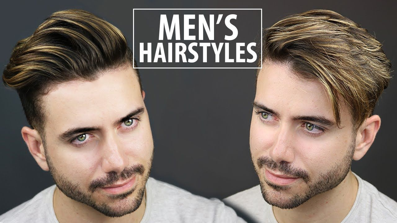 Mens haircut tutorials  quick and easy hairstyles for men  menus hairstyle tutorial