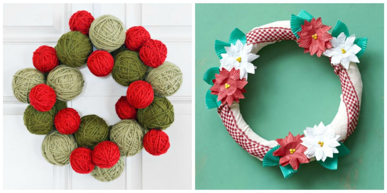 50 festive do it yourself christmas wreath ideas wreaths holiday heres a must read article from country living 40 festive do it yourself christmas wreath ideas solutioingenieria Image collections