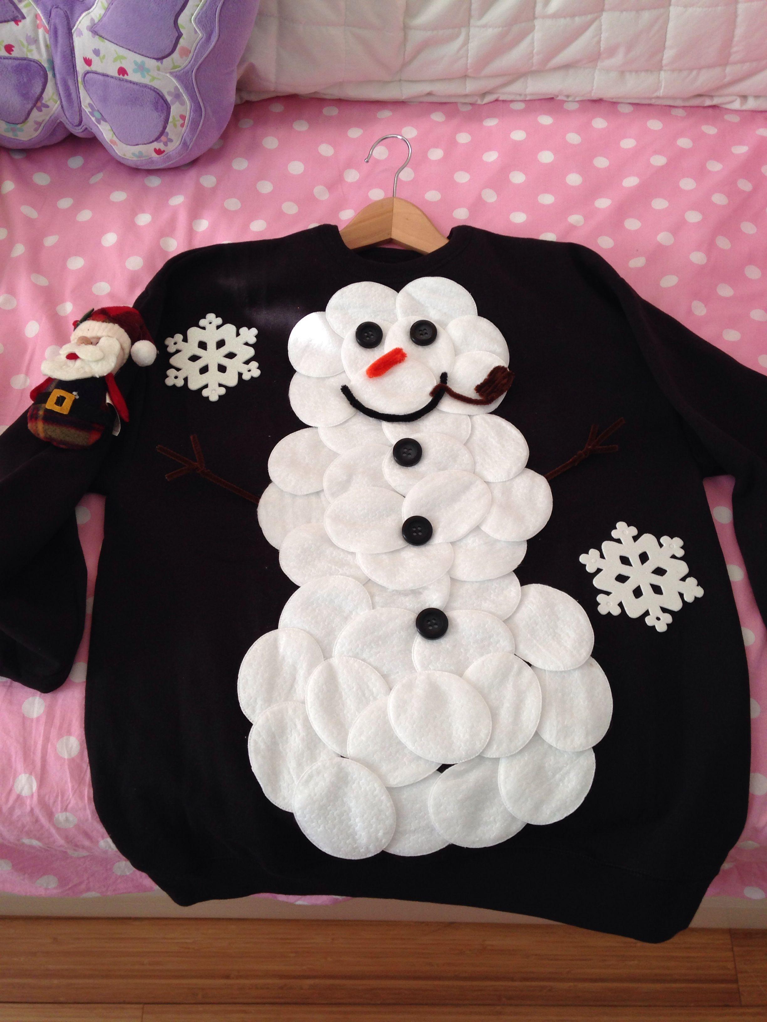 DIY Ugly Sweater Suéter feo de navidad, Sueteres