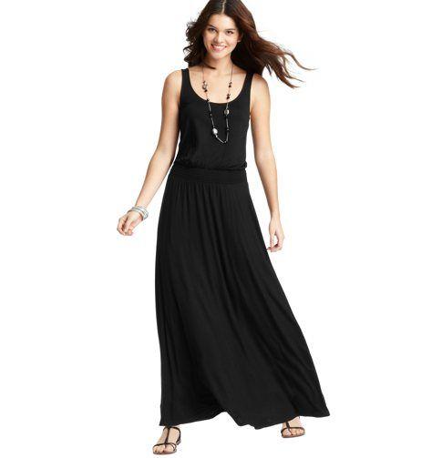 Black Tank Maxi Dress Petite