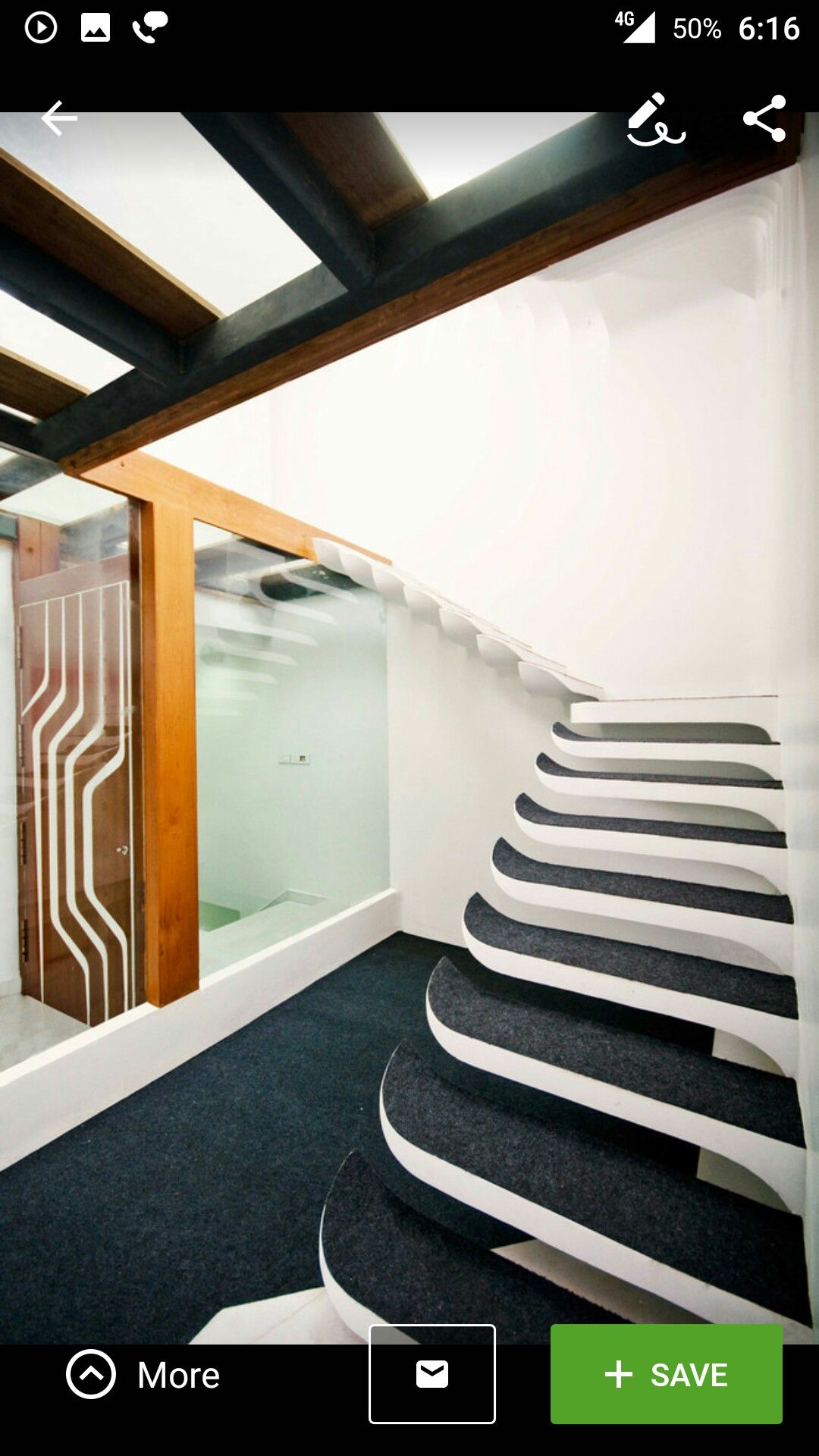 Pin by Shailesh on Staircase (With images) | House ...